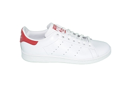 SUPERSTAR STAN ORIGINAL:Cuir/Blanc/Rouge/