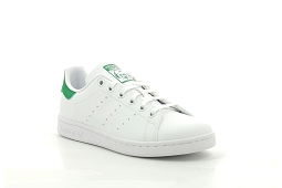 STAN SMITH CF I STAN SMITH J:Cuir/Blanc/Vert/