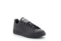 27217 STAN SMITH J:Cuir/Noir/Noir/