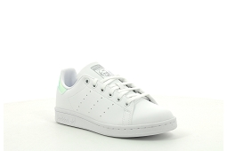 CAMPUS STITCH AND TURN STAN SMITH J:Cuir/Blanc/Miroir/