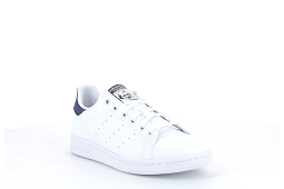 SUPERSTAR C STAN SMITH J:Cuir/Blanc/Bleu/