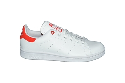 STAN SMITH W STAN SMITH J:Cuir/Blanc/Rouge/