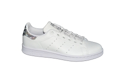 AMERICANA HI STAN SMITH J:Cuir/Blanc/Brillant/