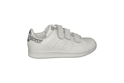 46305 STAN SMITH CF C:Cuir/Blanc/Brillant/
