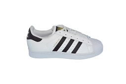 27273 SUPERSTAR:Cuir/Blanc/Noir/