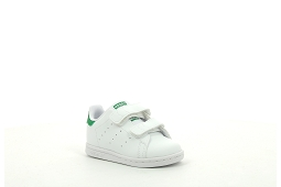 SUPERSTAR STAN SMITH CF I:Cuir/Blanc/Vert/