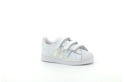 ALL STAR OX SUPERSTAR CF I:Cuir/Blanc/Brillant/