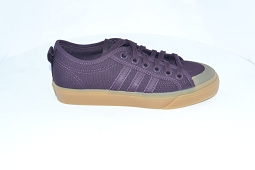 SUPERSTAR FOND J NIZZA:Toile/Violet//