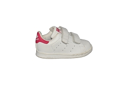 STAN SMITH CF I<br>Cuir Blanc Rose