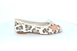 HELLO<br>Cuir Beige Leopard