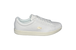 LACOSTE CARNABY CRAQUELE SFA<br>Blanc