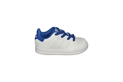 41896 STAN SMITH EL I:Cuir/Blanc/Bleu/