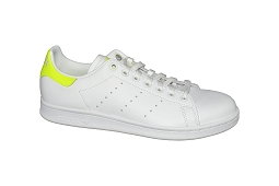 CORE OX STAN SMITH EE 5819:Cuir/Blanc/Jaune/