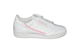STAN SMITH J CONTINENTAL 80 W:Cuir/Blanc/Rose/