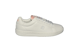 ULTRA CROSSCOURT 2F LOWMMN:Cuir/Blanc/Rose/