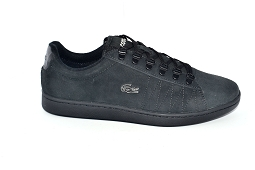 LACOSTE CARNABY SUEDE<br>Noir