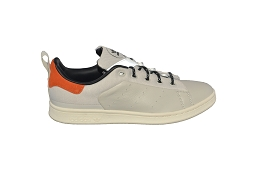 CORE HI STAN SMITH:Cuir/Beige/Orange/