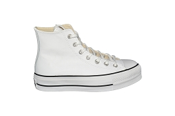JR CORE HI CTAS LIFT HI CLEAN:Cuir/Blanc//