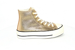 CHUCK TAYLOR ALL STAR LIFT<br>Cuir Gold