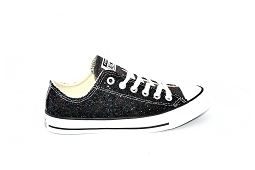 STAN SMITH J CTAS OX:Toile/Noir/Paillettes/
