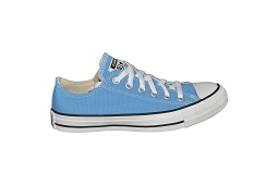 ALL STAR OX F<br>Cuir Bleu