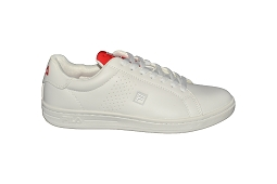 CRIPSTER CROSSCOURT M:Cuir/Blanc/Rouge/