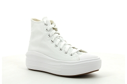1460 SMOOTH CTAS MOVE HI:Cuir/Blanc//
