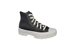 CUPSOLE CHUCK LUGGED LEATHER:Toile/Noir/Blanc/