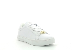 1215183 CUPSOLE LACEUP:Cuir/Blanc//