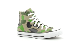 CT LEATHER1 T 406 CTAS HI MILITAIRE:Kaki/Beige/