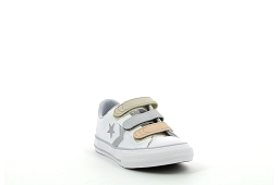 Converse toiles jr star player 3v blanc