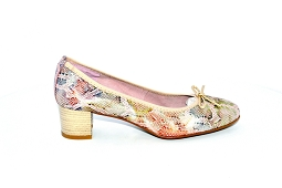 TERESA<br>Cuir Multi Rose