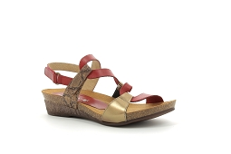 GRAISSE 2164:Cuir/Rouge/Multi/