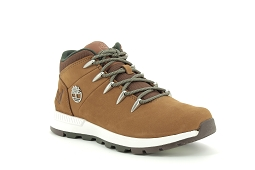 SPRINT TREKKER<br>Cuir Dark Marron