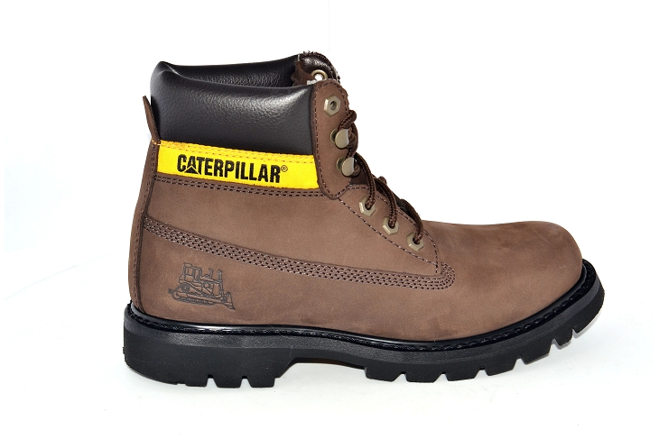 Caterpillar bottines colorado marron