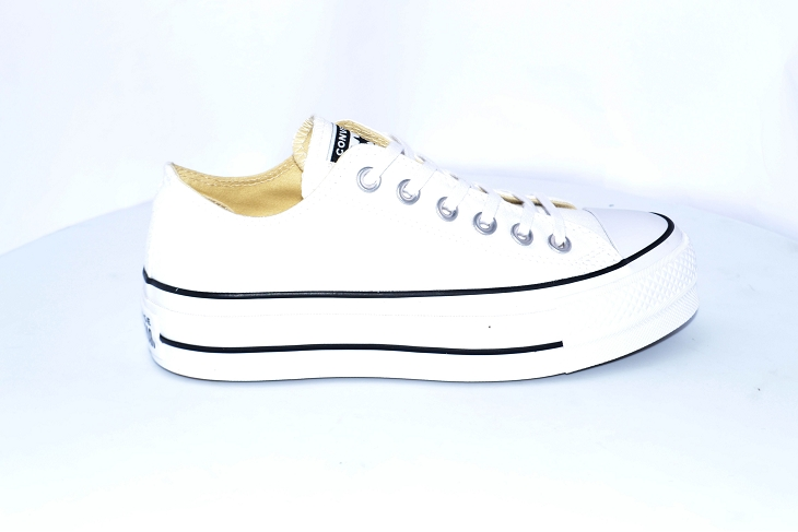 Converse sneakers ctas lift ox blanc
