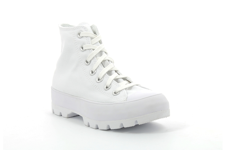 Converse toiles chuck taylor lugged blanc