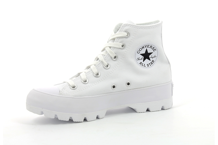 Converse toiles chuck taylor lugged blanc1935204_2