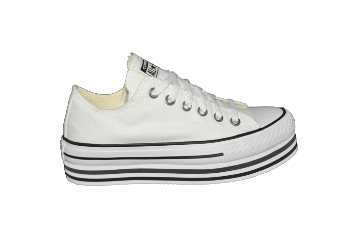 Converse toiles layer ox blanc