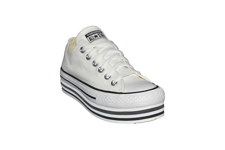 Converse toiles layer ox blanc1953902_2