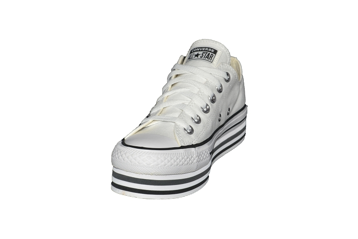 Converse toiles layer ox blanc1953902_3