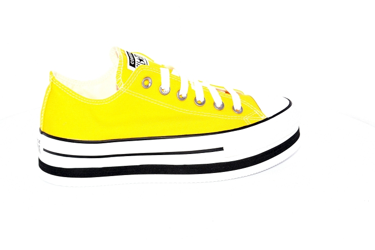 Converse toiles layer ox jaune