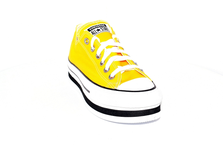 Converse toiles layer ox jaune1953903_2