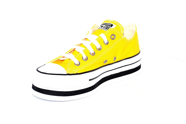 Converse toiles layer ox jaune1953903_3