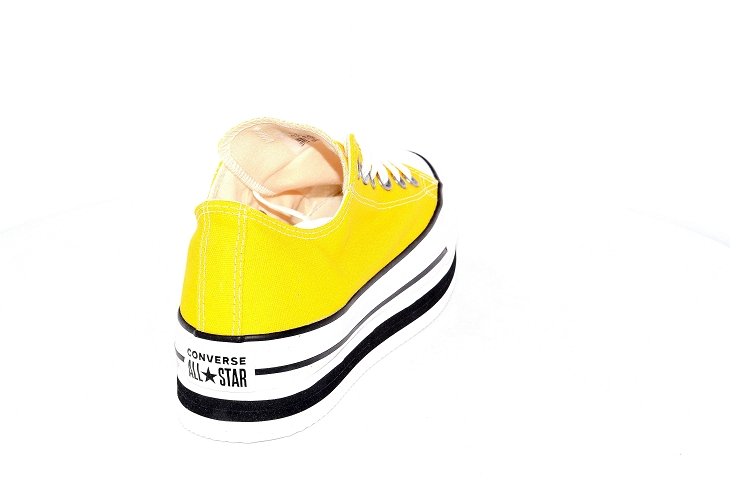 Converse toiles layer ox jaune1953903_4