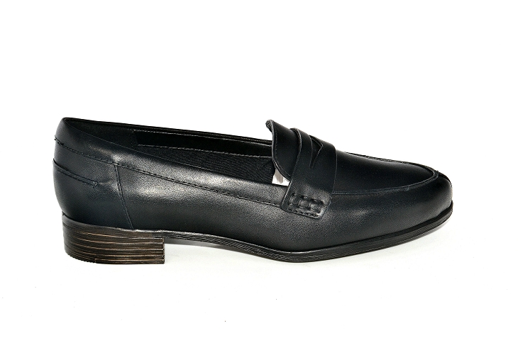 Clarks mocassins hamble loafer noir