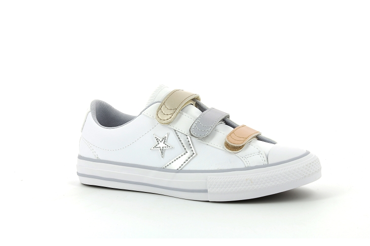 Converse toiles star player 3v blanc