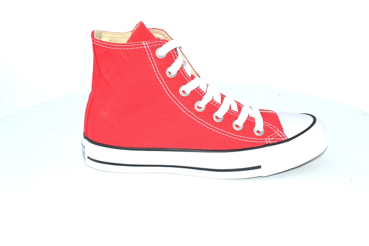 Converse toiles core hi rouge