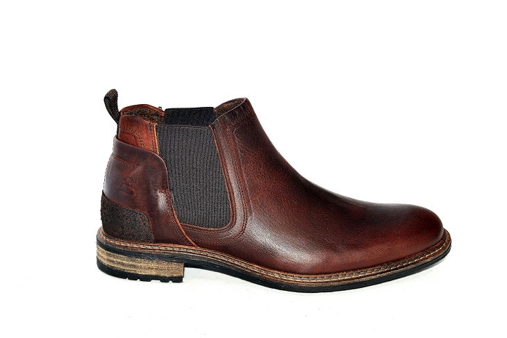 Bullboxer bottines b870k4 marron